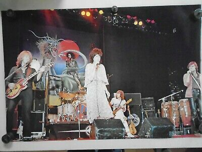 """Jefferson Starship - Rare Orig. Vintage Poster from""""1976"""" / Exc. New cond. 23x35"""