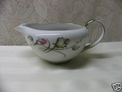 FINE CHINA OF JAPAN*FRENCH ROSE*CREAMER