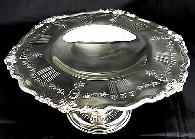 Vintage Sterling Reed & Barton S870 Silver Greek Style Compote