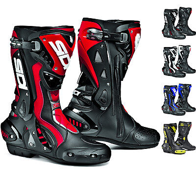 Sidi ST Motorcycle Boots Stealth Sport Racing Biker Boot GhostBikes All Sizes