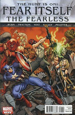 Fear Itself: Fearless #1 (of 12) Comic Book - Marvel