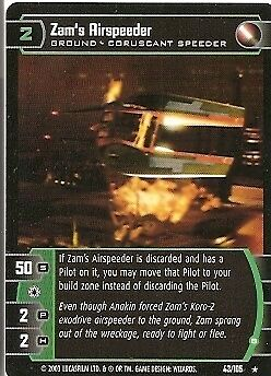 Jedi Guardians Shmi Skywalker #33 Rare Star Wars TCG