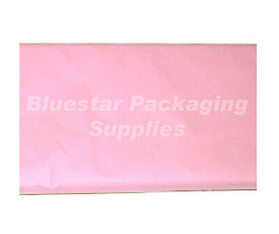 Pastel Pink Quality Tissue Paper 480 Sheet 500 x 750mm