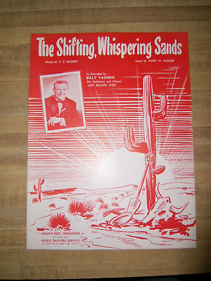 The Shifting, Whispering Sands Billy Vaughn Sheet Music