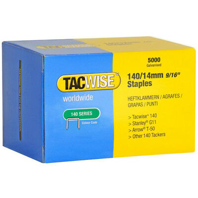 Tacwise 0344 Type 140 Series Staples 14mm - 5000 Pack