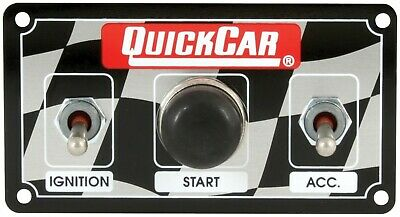 QuickCar 50-020 Micro Dirt Car Ignition Switch Panel Start Button Water Proof