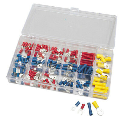 Draper 150Pc Electrical Terminal Crimping Connectors Assortment in Storage Box