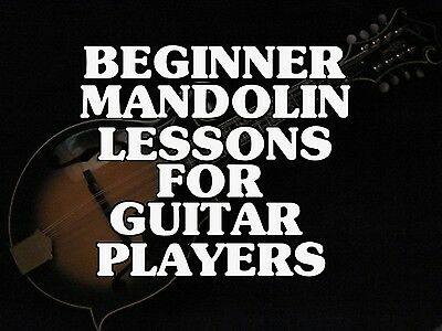 Beginner Mandolin Lessons For Guitar Players DVD Learn Country And Bluegrass NEW