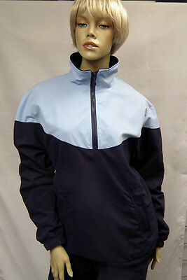 Ladies Microfibre Windproof Golf Jacket All Colours, Sizes S-XL Water Resistant