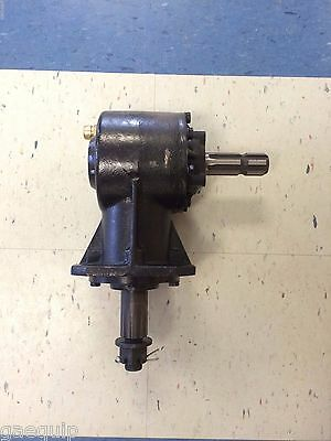 Replacement Rotary Cutter Gearbox, 6-Splined Input Shaft, 40Hp, Free Shipping