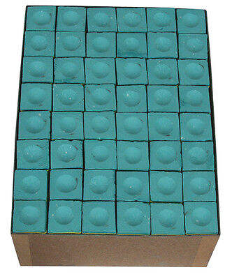 A Box Of 144 Pieces Green Triangle Chalk