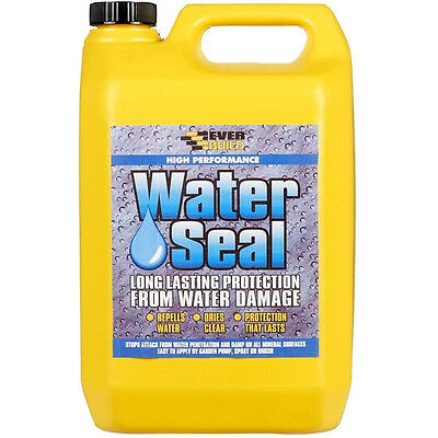 Everbuild 402 Water Seal Solvent Free Sealer 5 Litre