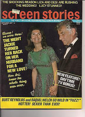Jackie Jacqueline Kennedy Screen Stories 1972 Clint Eastwood Shirley Temple Nml