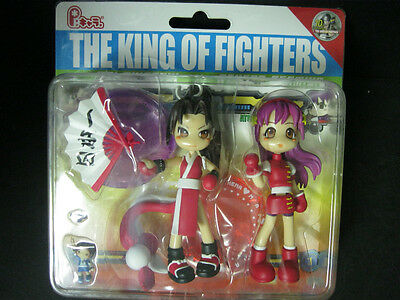 The King of Fighters mai shiranui athena asamiya figures