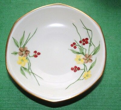 c1900 Glasgow Girl JME Hand Painted Floral China Dish