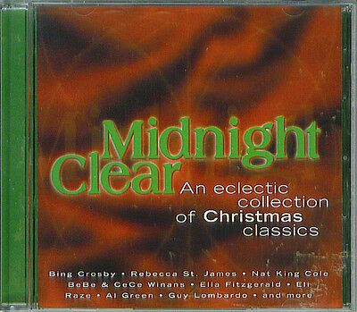 Midnight Clear Eclectic Collection of Christmas Classics CD 1999 Various Artists