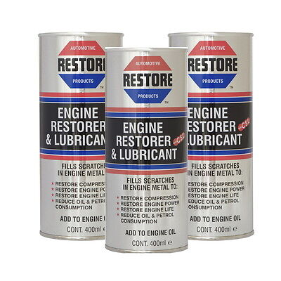 New Mercedes Benz MB engine smoke noise try AMETECH RESTORE OIL 3x400mls RRP £66