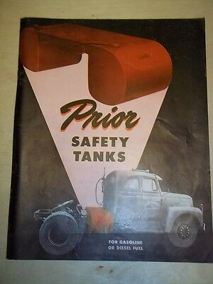 Vtg Prior Products Catalog~Safety Tanks~Gas/Diesel Fuel