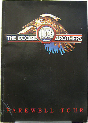 DOOBIE BROTHERS Farewell Tour Concert Program 1982 ticket stubs