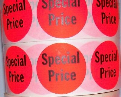 """1000 Special Price Pricing Point LABEL STICKER 1 1/2"""" Circle"""