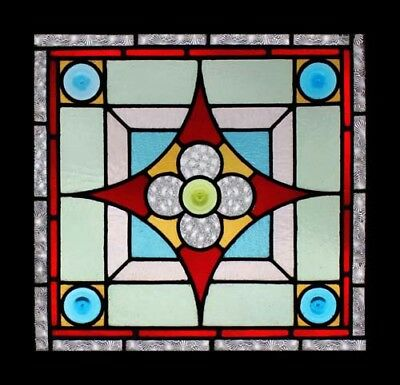 Exceptional English Victorian Antique Stained Glass Window