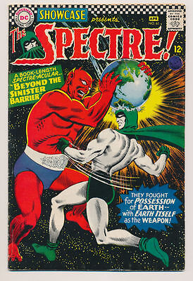 SHOWCASE #61 VG 2nd app. The Spectre, Earth Used as a Weapon, DC Comics 1966