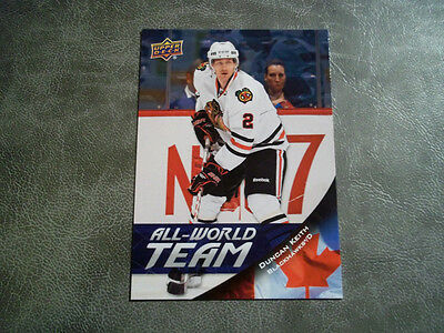 11-12 Ud All World Team Insert Card #9 Duncan Keith
