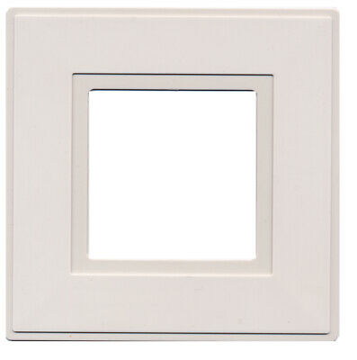 Light Switch Surround Finger Plate White [2 Pack]