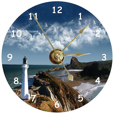 NEW Lighthouse CD Clock