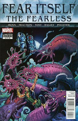 Fear Itself: The Fearless #4 (of 12) Comic Book - Marvel