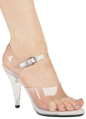 ade0a772ce2a Clear Sandals Lucite Bottom Open Toe 4