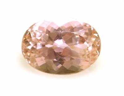 Morganite-Gem-15.44Ct -Oval Shape
