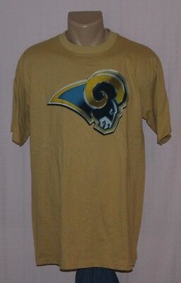 St. Louis Rams Primary Logo T-Shirt NFL Team Apparel M