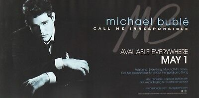 """Michael Buble """"call Me-Available May 1"""" Us Promo Poster"""