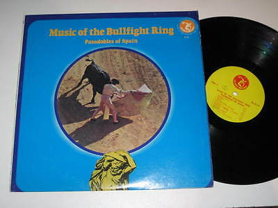 LP/MUSIC OF THE BULLFIGHT RING/PASODOBLES OF SPAIN/Olympic Records 6114 MEGARAR