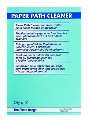 Paper Path Cleaner for Laser Printer, Plain Paper Fax and Photocopier