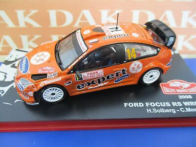 Die cast 1/43 Modellino Auto Ford Focus RS WRC 07 Rally Monte Carlo 2008 Solberg