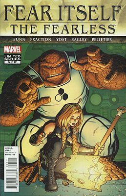 Fear Itself: The Fearless #5 (of 12) Comic Book - Marvel