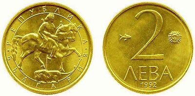 Bulgaria 1992 2 Leva Uncirculated (KM203)