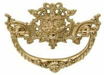Victorian Cast Brass Drawer  Pull  B0678