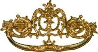 Victorian Cast Brass Drawer  Pull  B0690