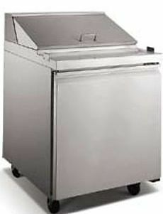 "28"" Sandwich Prep Table Refrigerated - BRAND NEW"