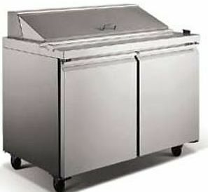 "48""  Refrigerated Sandwich Prep Table - BRAND NEW"