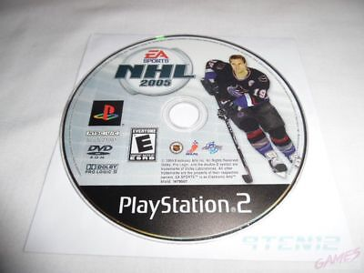 NHL 2005 - PS2 Sony PlayStation 2 game Disc Only EA Sports 05 E Everyone