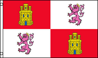 3'x5' Spain Royal Standard Flag Coat Of Arms Monarchy Lions Castles Spanish 3X5