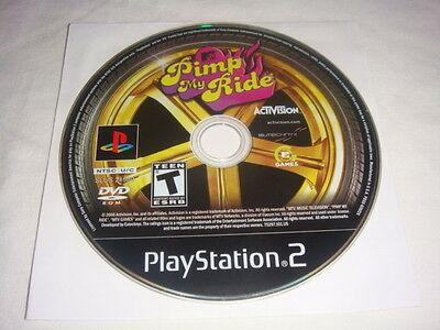 Pimp My Ride - PS2 Sony PlayStation 2 game Disc Only MTV games T Teen