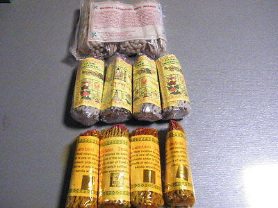 1 Set Tibetan  Rope  - Ayurvedic Incenses ~ Lumbini ~ Tashi Ropes