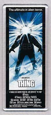 THE THING large fridge magnet - The 1982 CLASSIC!