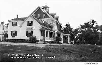 1930 S Arlington Hotel Kennebunkport Maine Grand Hotel 7 X 11 Photo 652 Vintage Antique Pre 1940 Removingvaricoseveins Collectibles