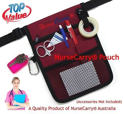 NAVY NurseCarry® Pocket Waist Pouch Bag /Nurse /Vet /Doctor /Medical + FREE POST
